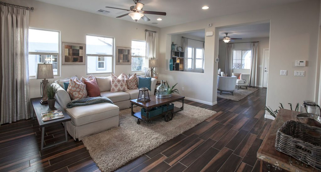 Laminate Flooring Living Room Button Image