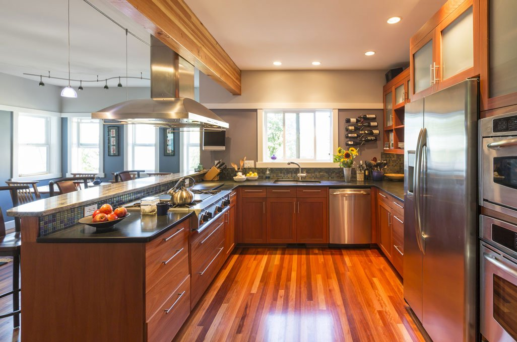 Choosing A Hardwood Kitchen Floor