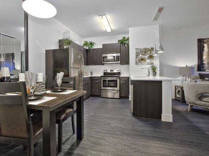 Kitchen-Dinning-Livingroom-Laminate-Flooring