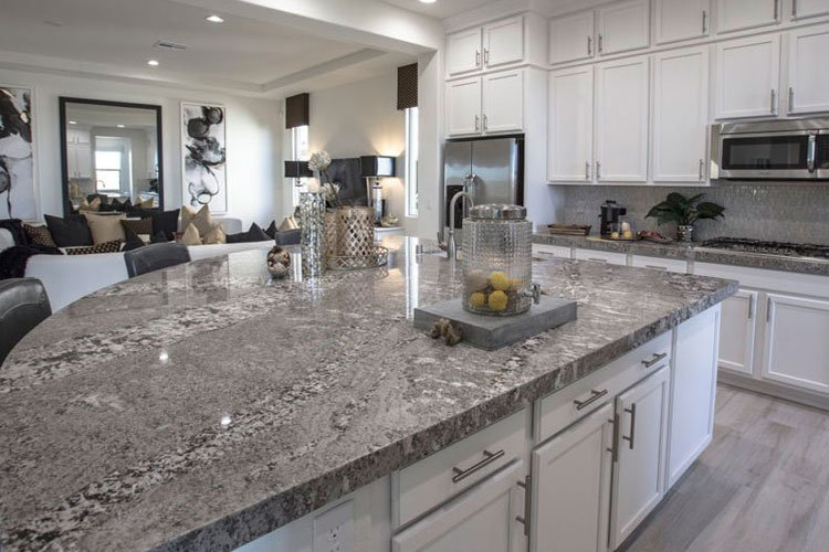 grey-marble-kitchen-countertops